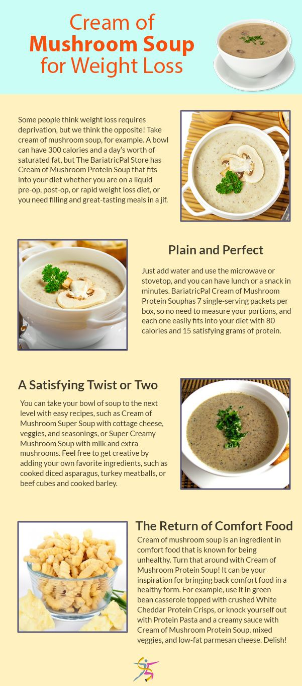 cream of mushroom soup for weight losssome people think weight loss rh pinterest ch