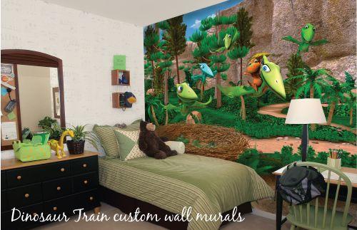 bonggamom finds dinosaur train wall mural giveaway beautiful home rh pinterest com Dinosaur Train Troodon Dinosaur Train Logo