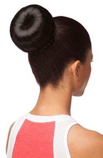 chignon rond avec boudin   Big hair, Bun hairstyles, Chignon updo
