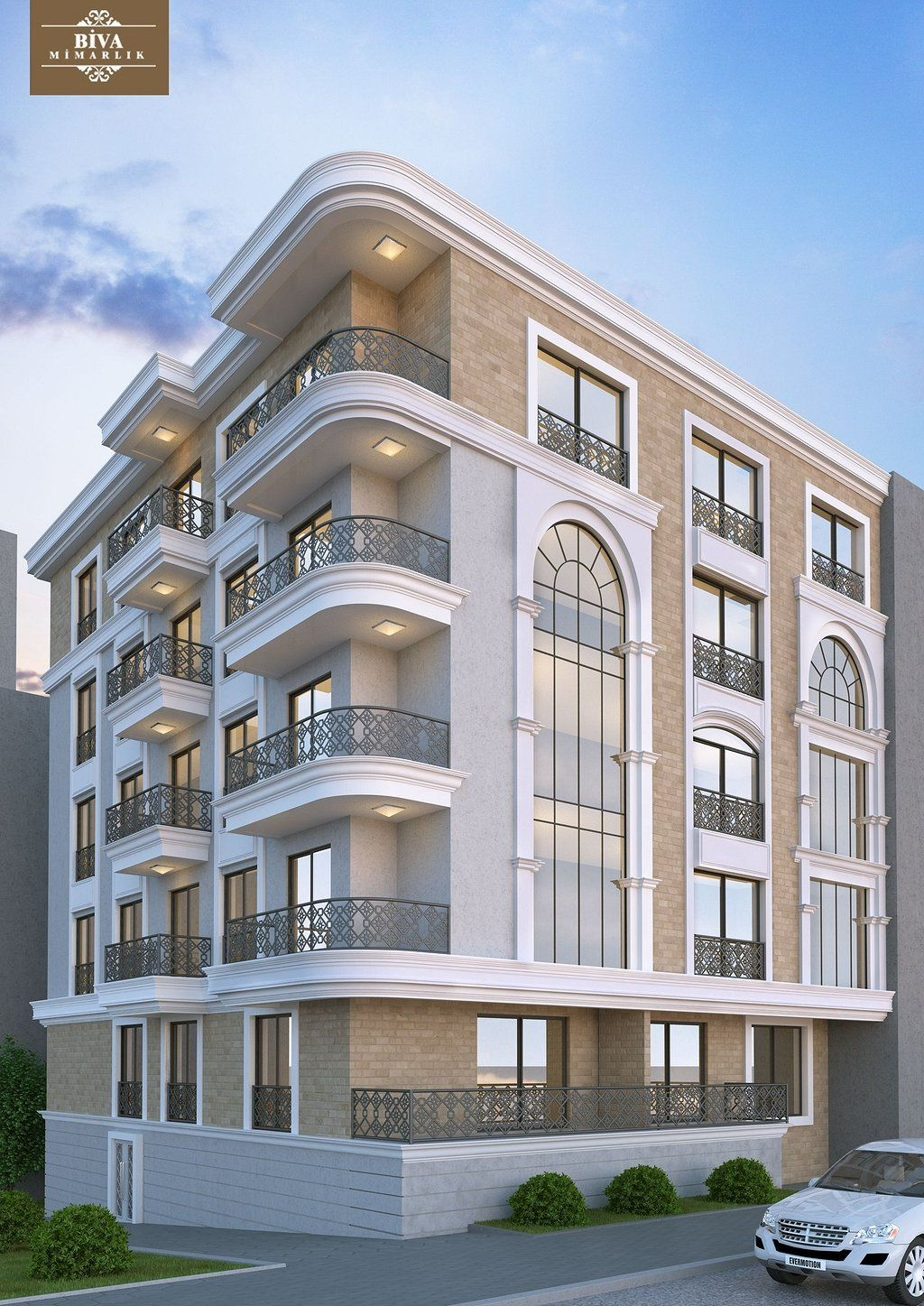46 Modern Architecture Building Apartments Https Www Mobmasker Com Architecture Build Modern Architecture Building Apartment Architecture Facade Architecture