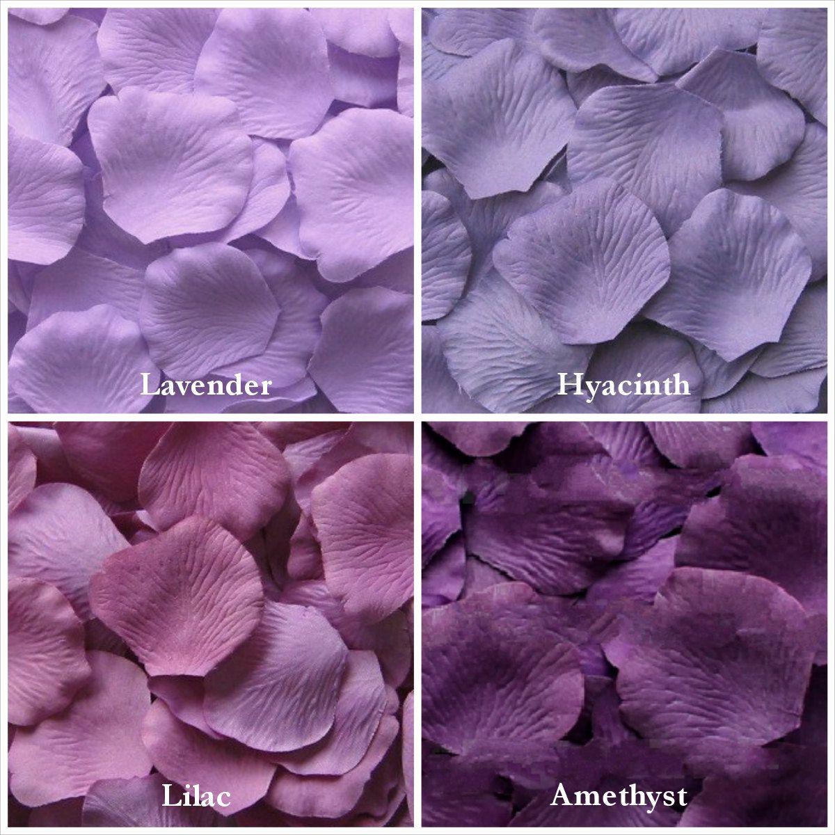 Purple Rose Petals In 14 Shades Purple Silk Rose Petals Fake Etsy In 2020 Fake Rose Petals Flower Girl Petals Purple Roses