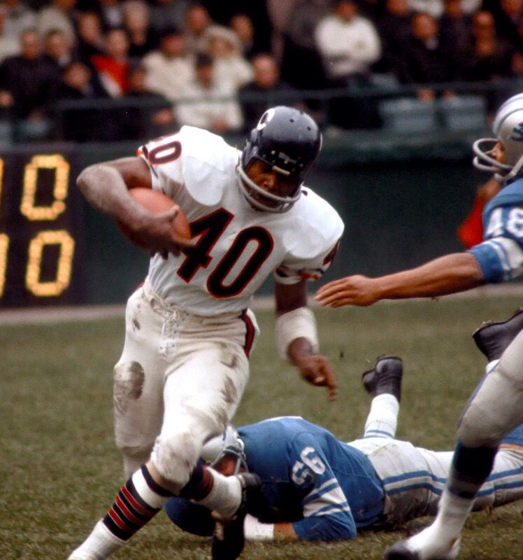 Gayle Sayers | Chicago sports teams, Chicago bears football, Chicago sports