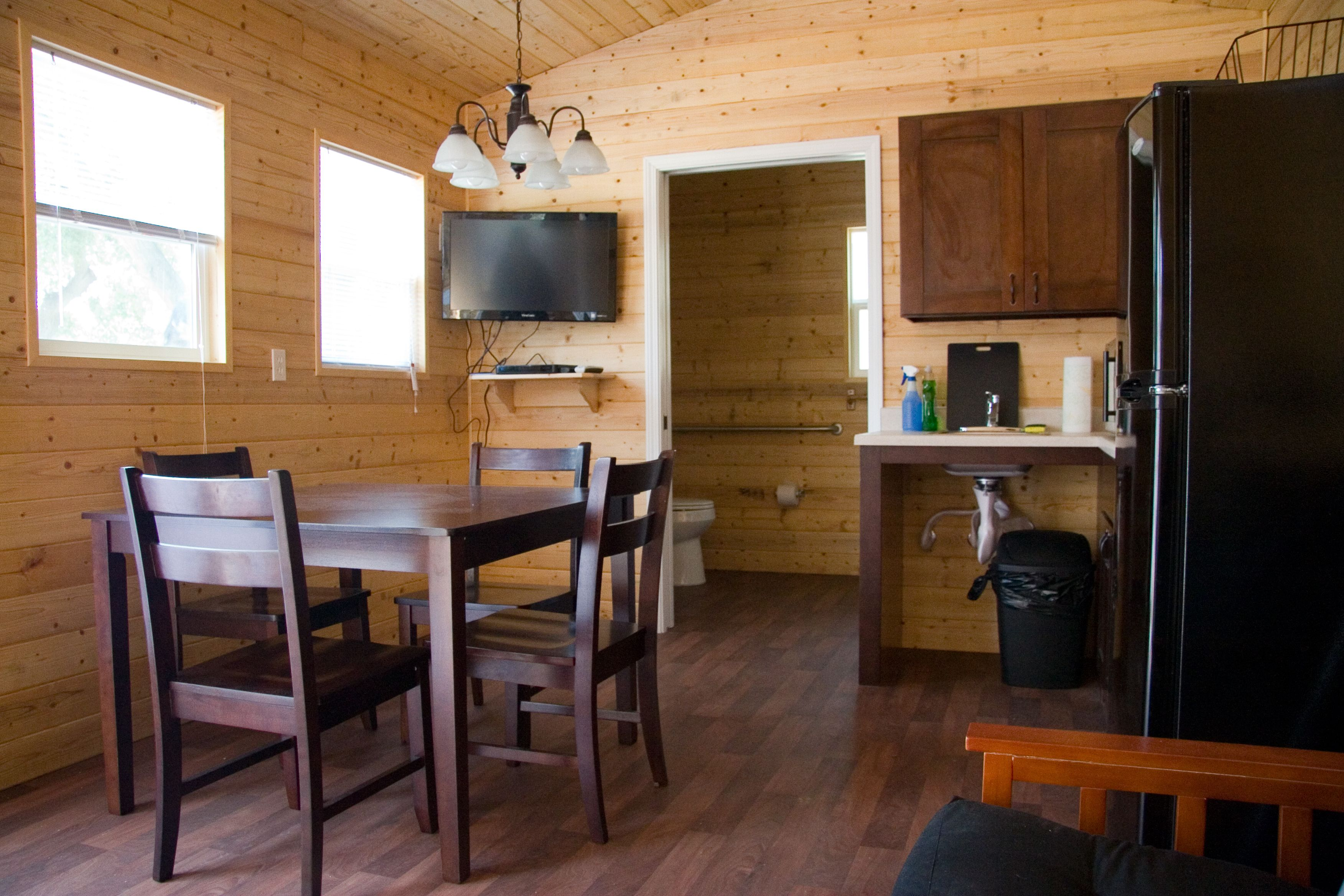Api Cabins Can Be Customize To Suite Your Needs Floor Plans Can Include Living Space Kitchen 3pc Restroom One Bedro Beach Cabin Interior Beach Cabin Cabin