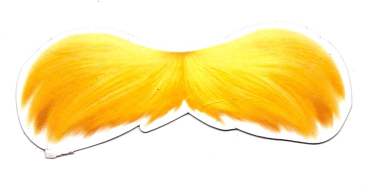 picture regarding Lorax Mustache Printable called Pin by means of Kate McMillan upon Lorax celebration The lorax, Mustache