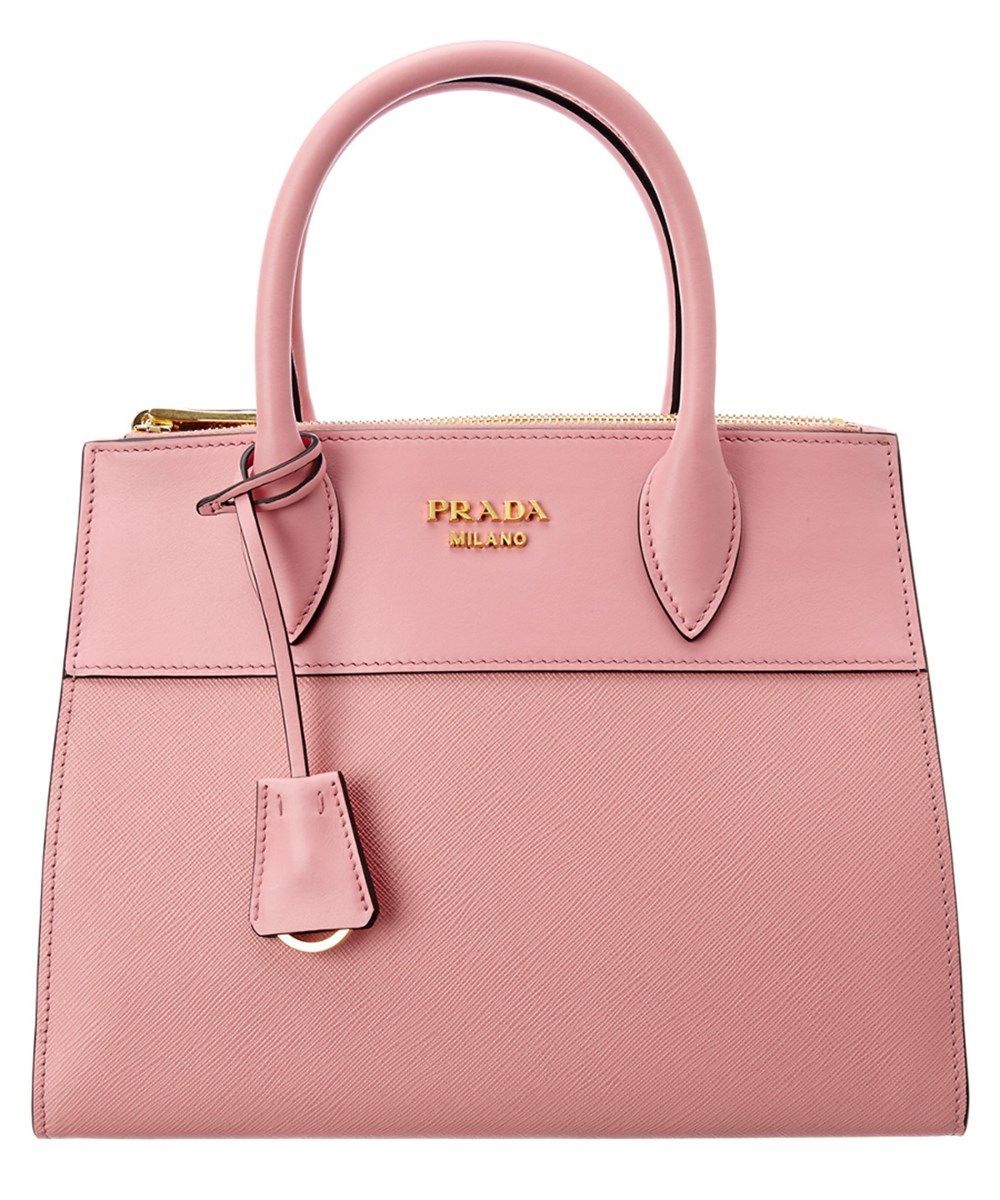 b5e619567f7 PRADA Prada Paradigme Saffiano  Amp  Calf Leather Double Handle Zip Tote .   prada  bags  shoulder bags  hand bags  leather  tote  lining