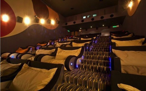 Movie Theater Of The Future Feature Bean Bags Seats   TGV Cinemas, Malaysia