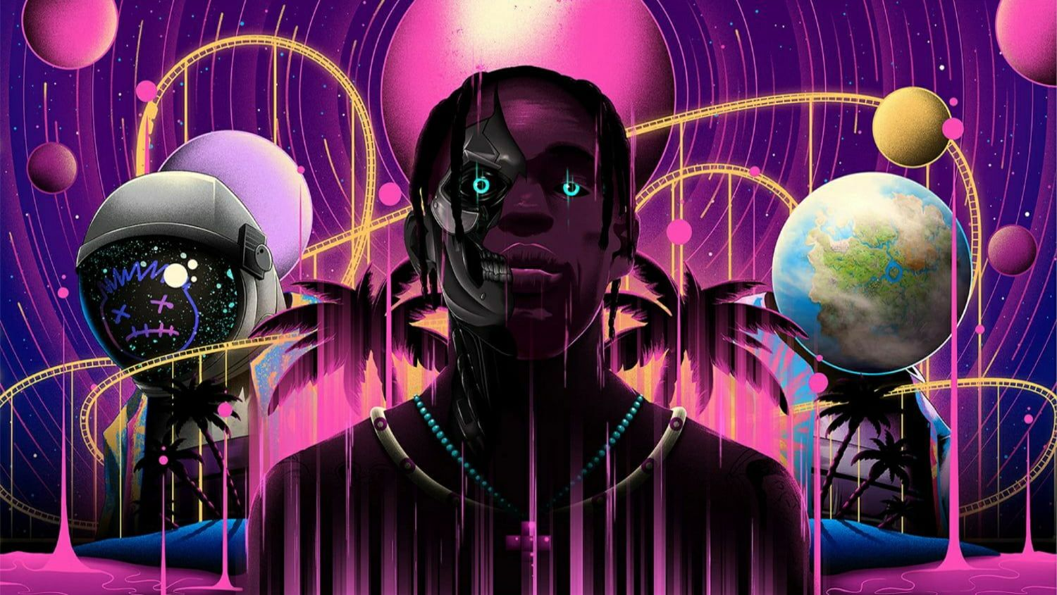 Fortnite Travis Scott 720p Wallpaper Hdwallpaper Desktop In 2020 Travis Scott Wallpapers Travis Scott Fortnite