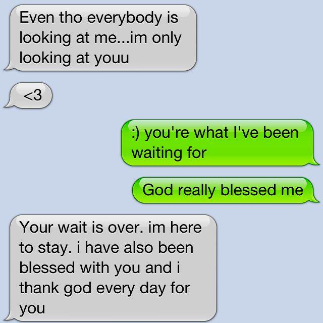 Cute texts from boyfriend