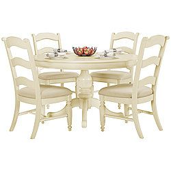 claire white round table 4 wood chrs city furniture favorite rh pinterest ca