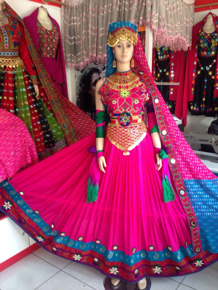 Afghan dresses:-)M | World | Pinterest