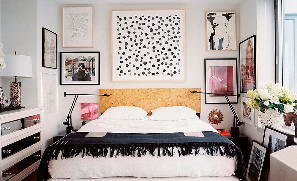 7 Inspiring Ideas For The Wall Above Your Bed