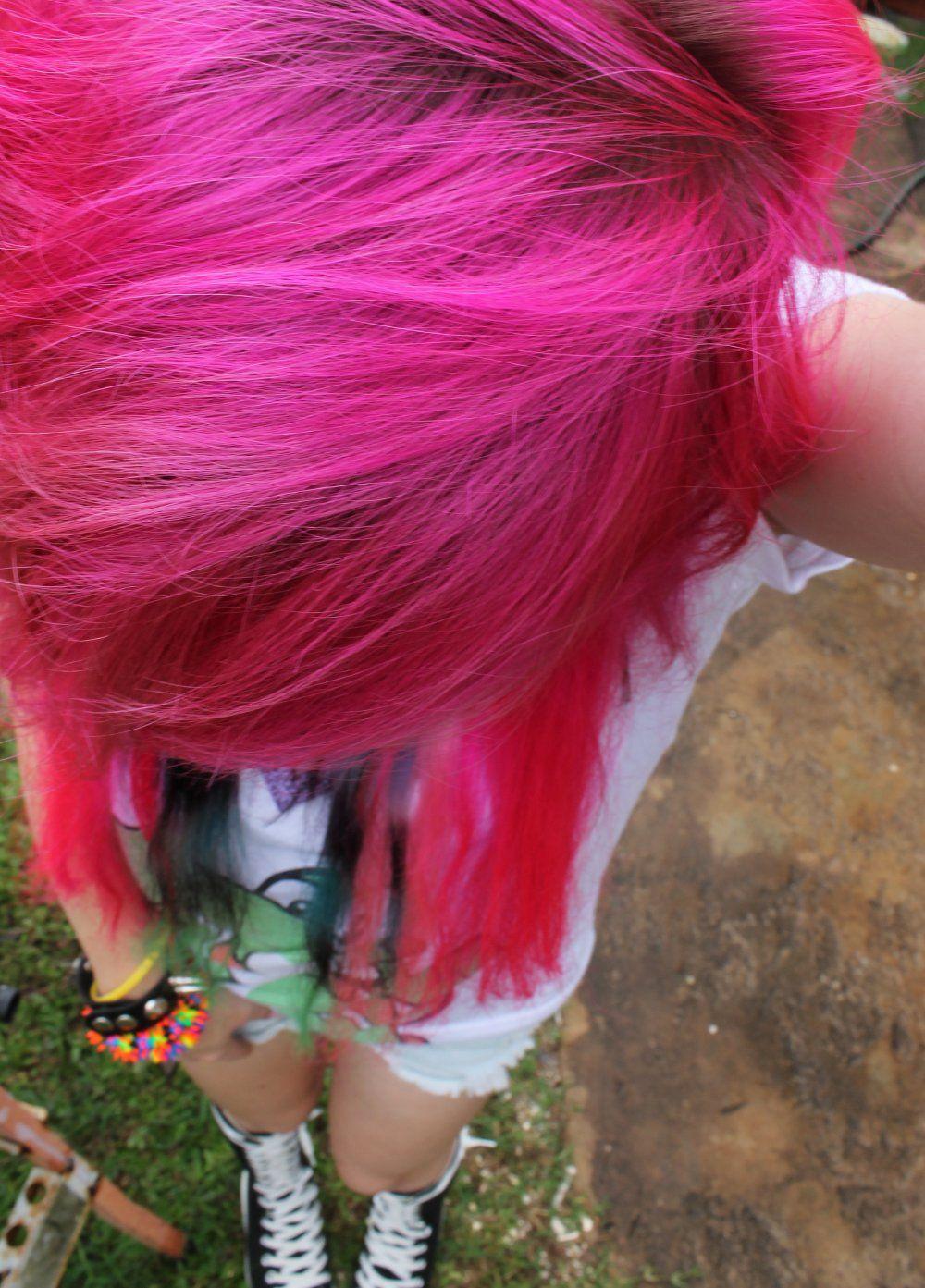 Crazy hair colors hair pinterest crazy hair hair coloring