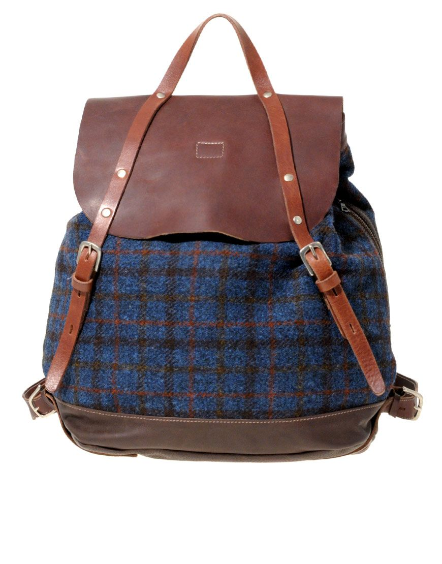 012dbe63b1 Dream Bag - Ally Capellino. Harris Tweed | throw it in the bag ...