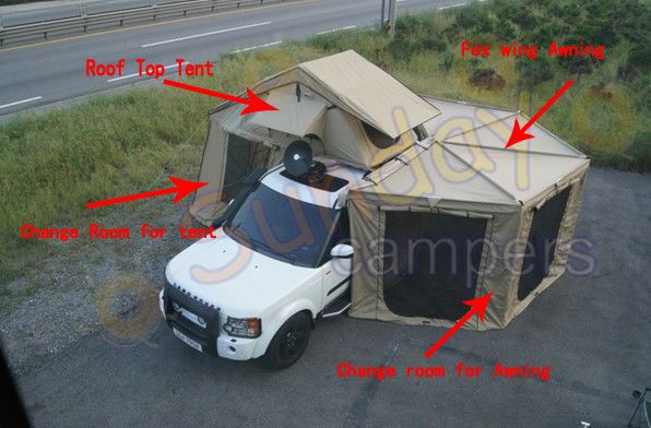 Roof Top Tent with Foxwing Awning - China Rooftop Tent Rooftop Tents | Made- & Roof Top Tent with Foxwing Awning - China Rooftop Tent Rooftop ...