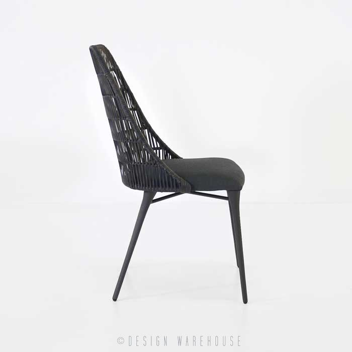 morgan outdoor wicker dining chair cocoa gardens pinterest rh pinterest com