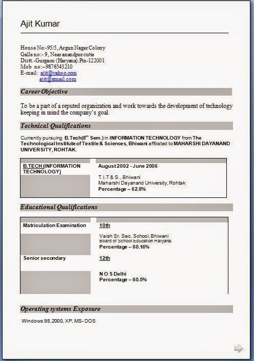 how to make a cv resume Sample Template Example of ExcellentCV - Cv Example