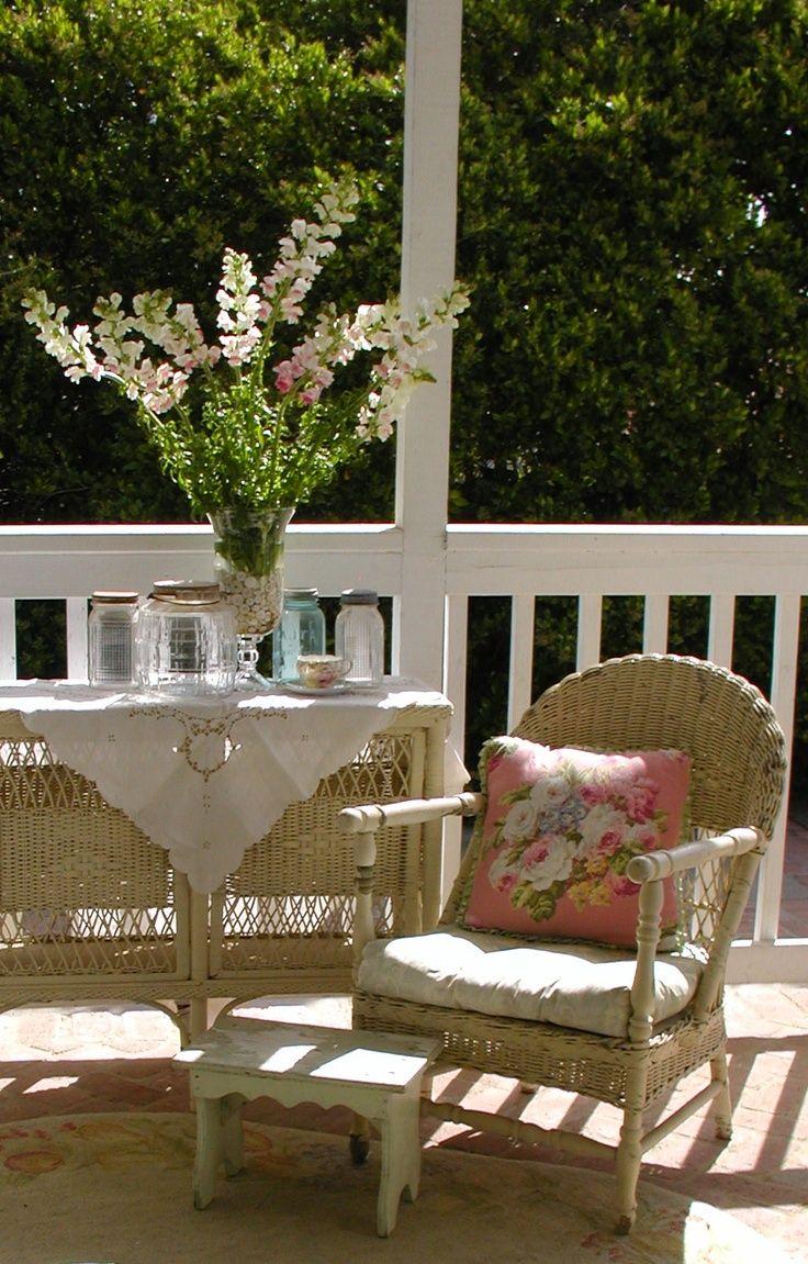pin by denise spring on garden dream cottage porch porch rh pinterest com