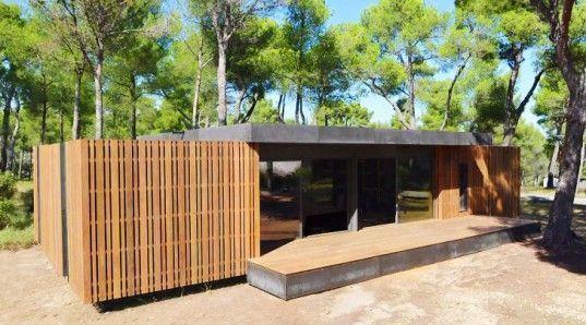 multipod studio s affordable pop up house snaps together like lego rh pinterest com