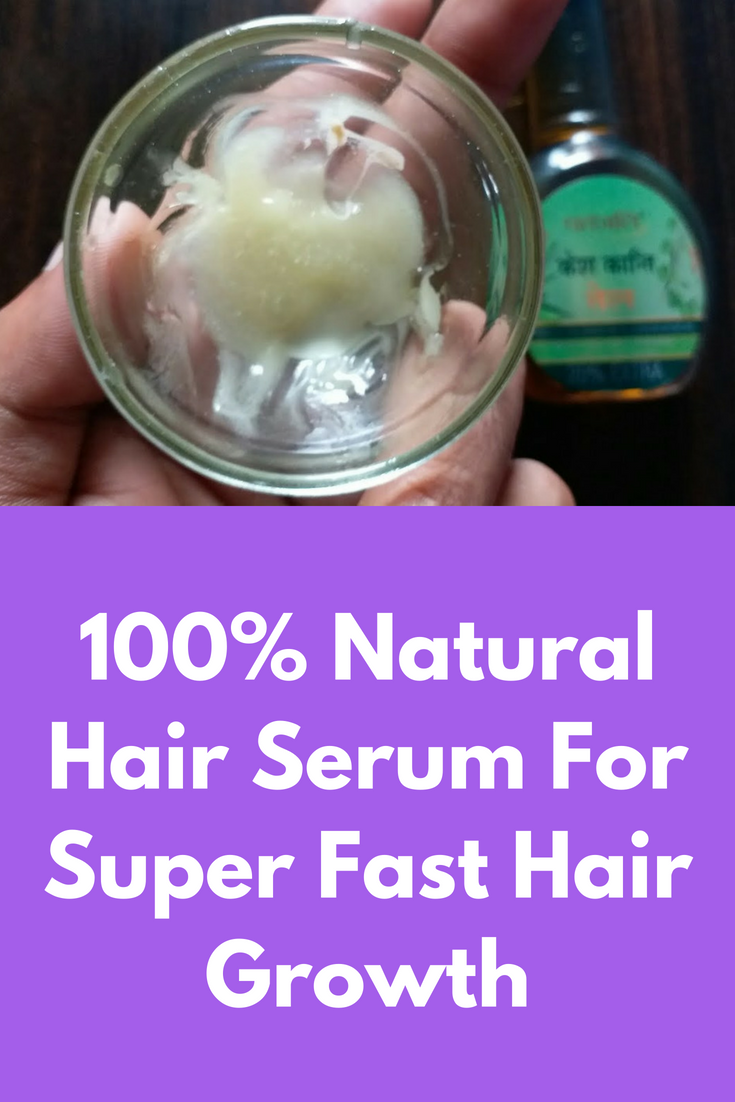 Apply this serum daily in night and in just  month your hair will
