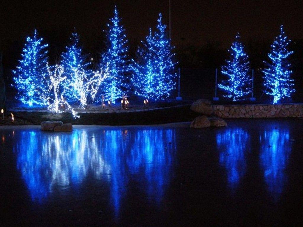 Led Christmas Lights On Houses Lamps Ideas