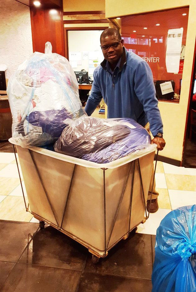 This Man Did 5 000 Pounds Of Free Laundry For Homeless Families