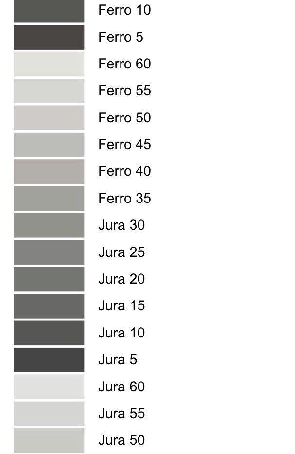Jura 55 Caparol Grey Pinterest