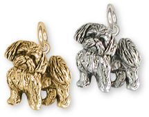 Shih Tzu Charm And Shih Tzu Jewelry And Charms In Silver And Gold
