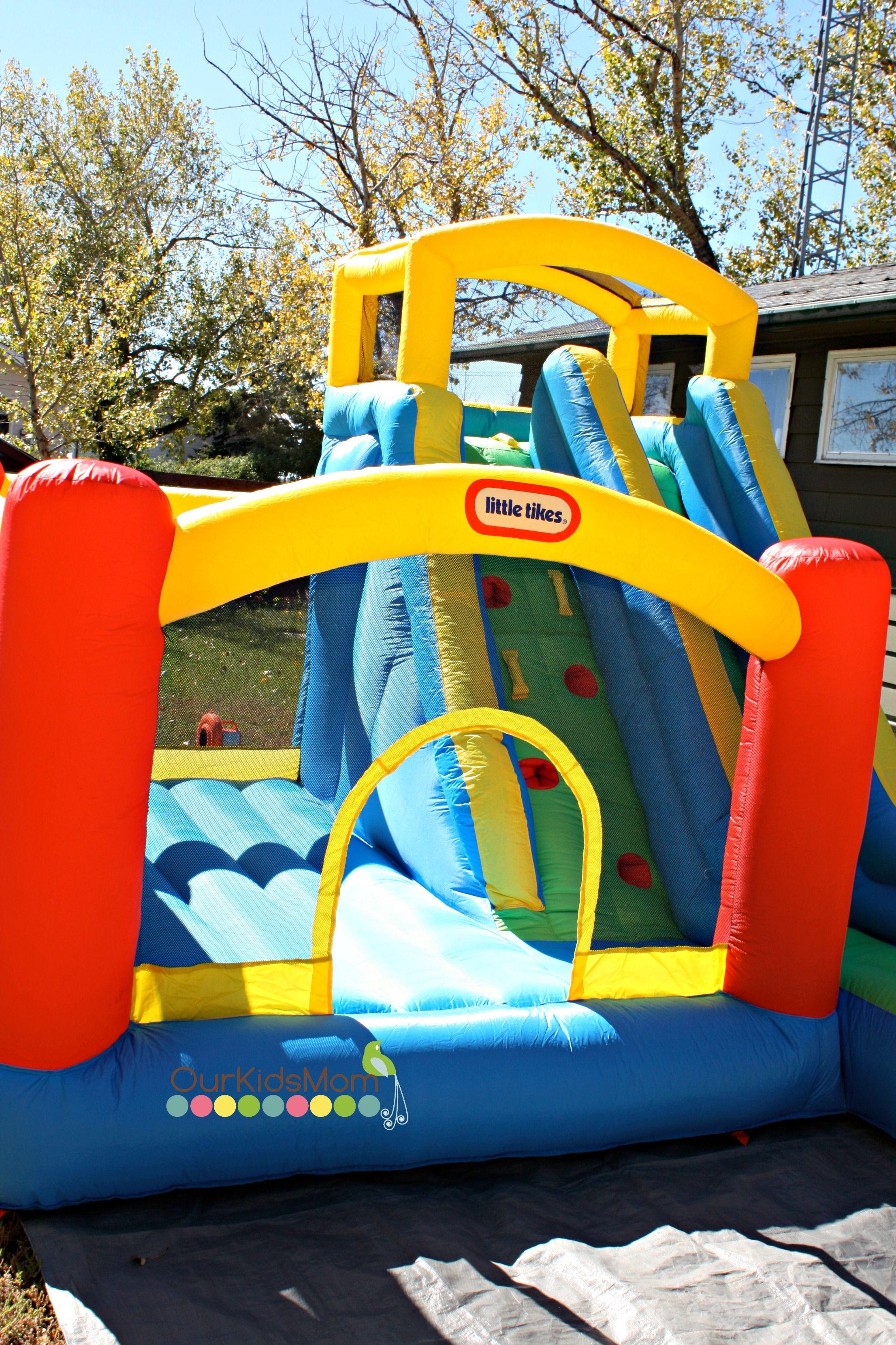 little tikes giant slide bouncer bouncy house sweeps contests rh pinterest com