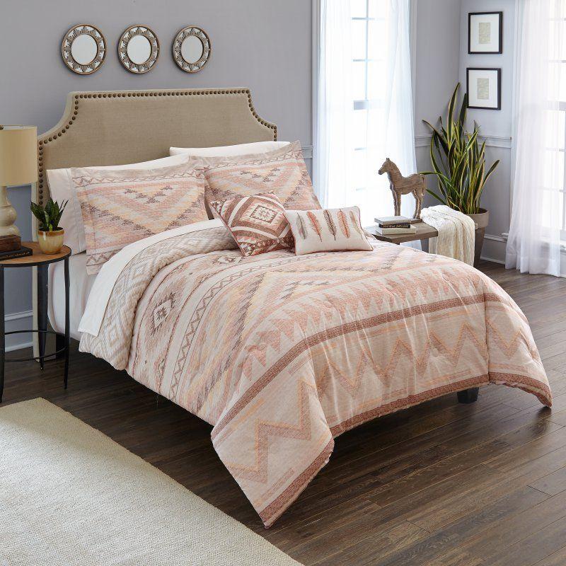 FullQueen Bedding Southwest Comforter Set Tribal Feather