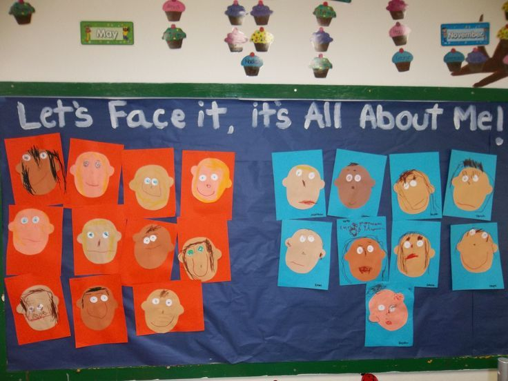 All About Me Bulletin Board Idea | All about me preschool ...