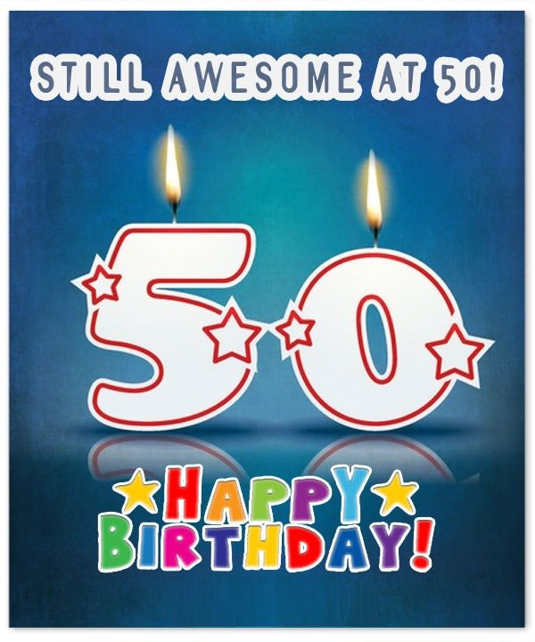Happy 50th Birthday Poems: 50th Birthday Wishes, Quotes, Messages, Cards And Images