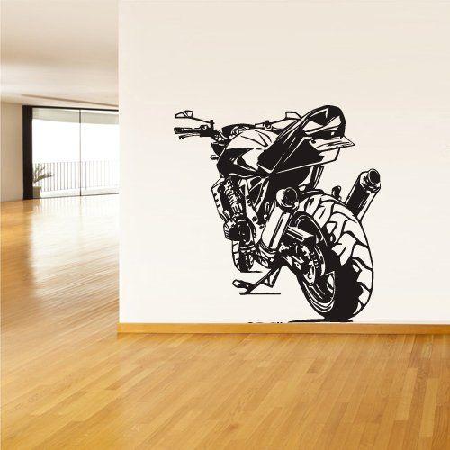Wall Vinyl Sticker Decals Decor Bike Moto Motorcycle Gp Sport (Z1226) StickersForLife http://www.amazon.com/dp/B00DYOSCAO/ref=cm_sw_r_pi_dp_YTQevb0XG4SNN