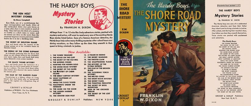 hardy boys 06 the shore road mystery dixon franklin w