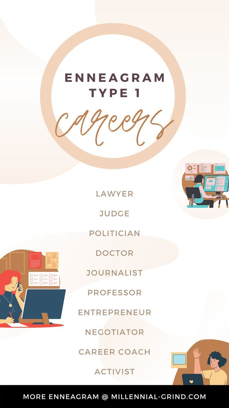 The Best Careers For Enneagram Type 1 in 2021