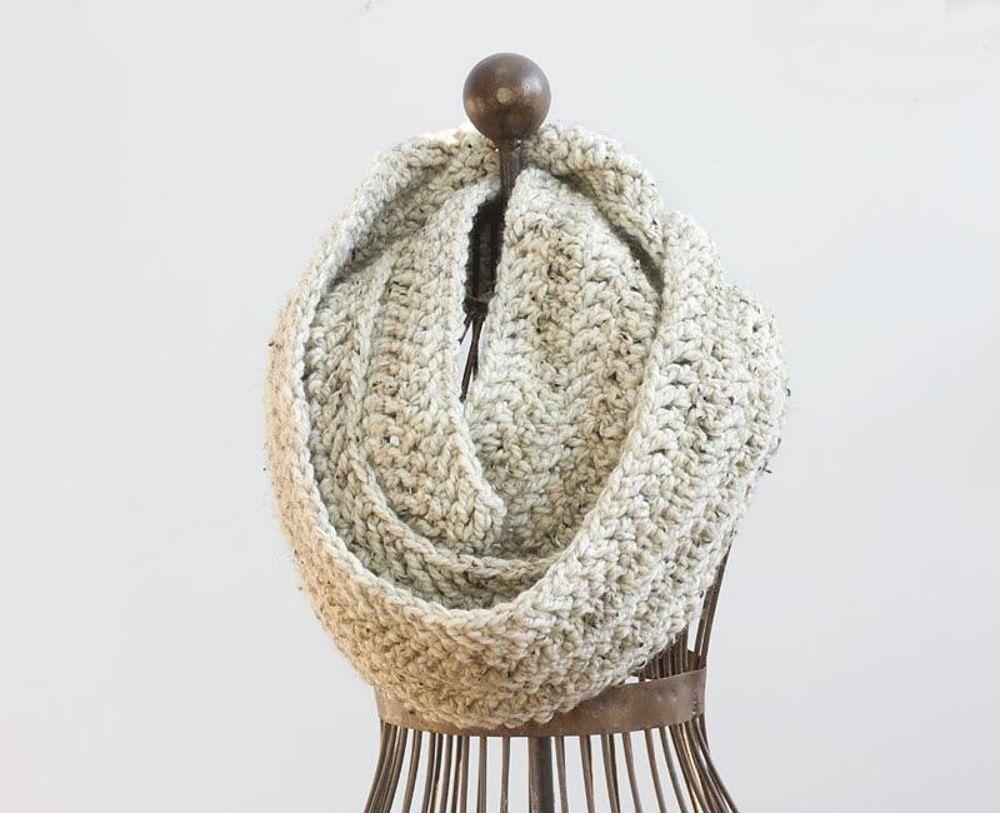 Herringbone Infinity Scarf | Proyectos que debo intentar | Pinterest