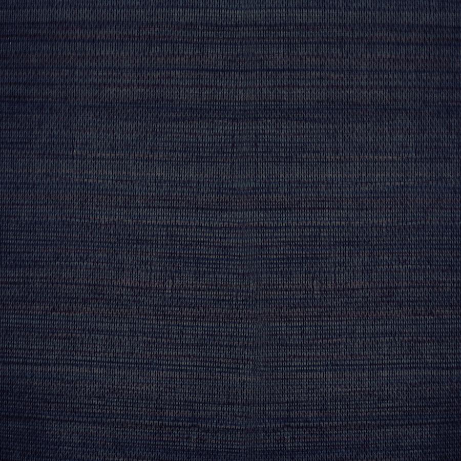 Shop allen + roth Navy Blue Grasscloth Unpasted Textured
