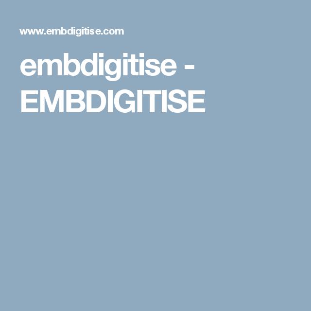 embdigitise - EMBDIGITISE