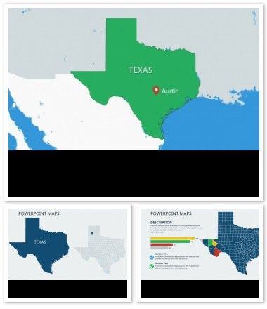 texas usa powerpoint maps imaginelayout com powerpoint maps