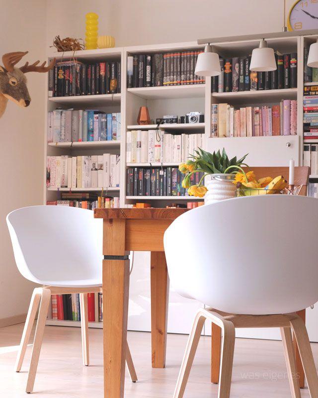 einrichtung leben wir haben neue hay st hle in unserem esszimmer esszimmer stuhl und. Black Bedroom Furniture Sets. Home Design Ideas