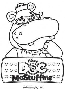 Free Doc Mcstuffins Coloring Pages Doc Mcstuffins Doc