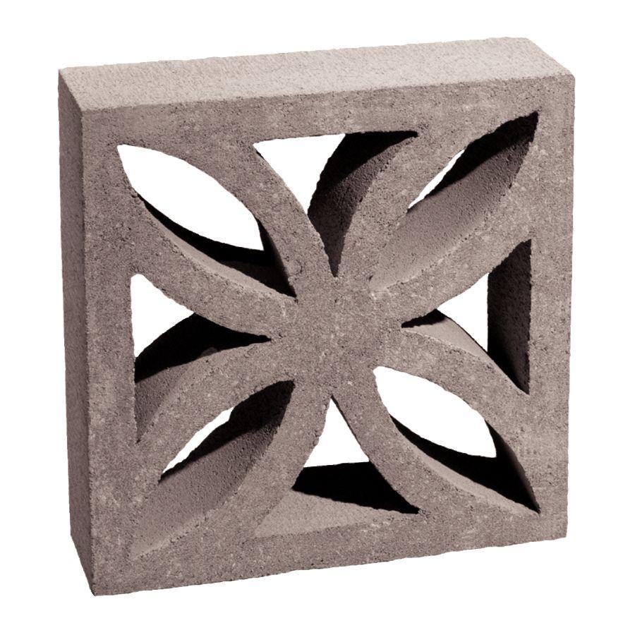 Basalite Decorative Concrete Block Common 4 In X 12 Actual 3 5 11
