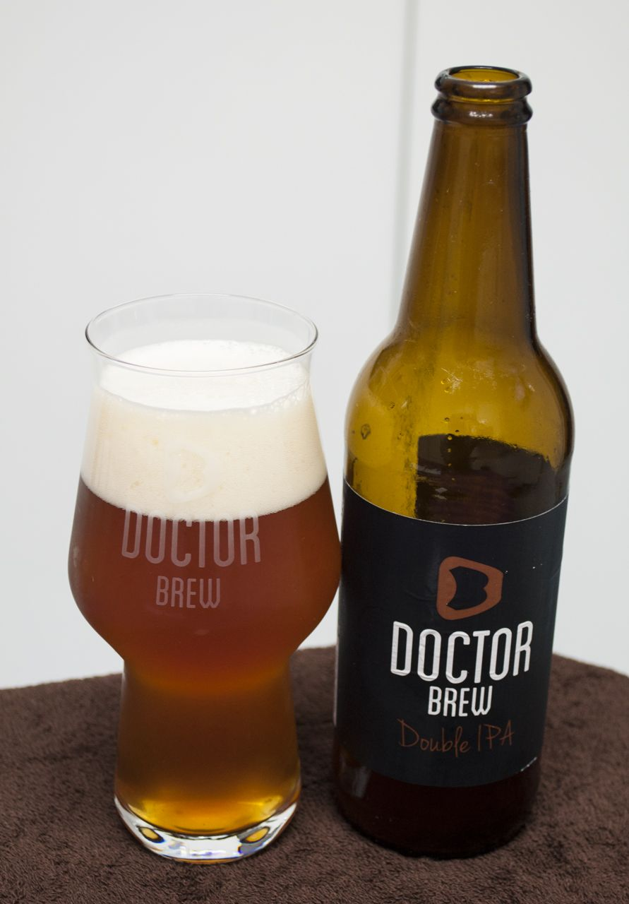 Doctor Brew Double IPA. Imperial IPA. 8º