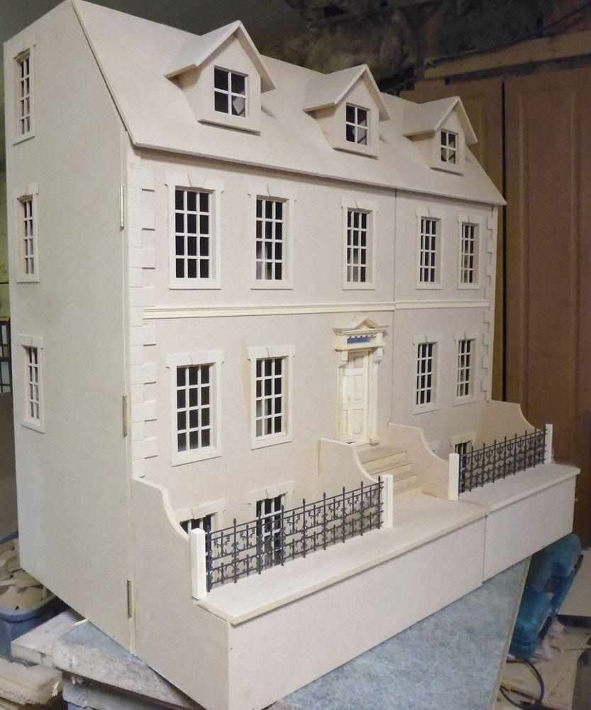 Superb 1/12 Scale Dolls House Dalton House 3ft Wide With Basement By DHD In Dolls  U0026 Bears, Dollsu0027 Miniatures U0026 Houses, Dollsu0027 Houses | EBay
