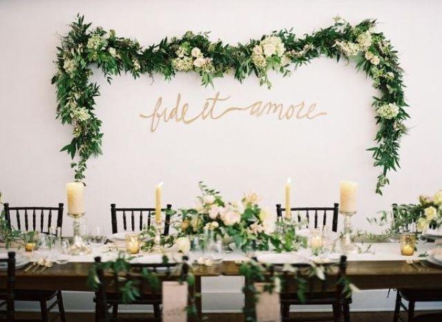 Greenery Spring Wedding Decor Ideas Youll Love 32