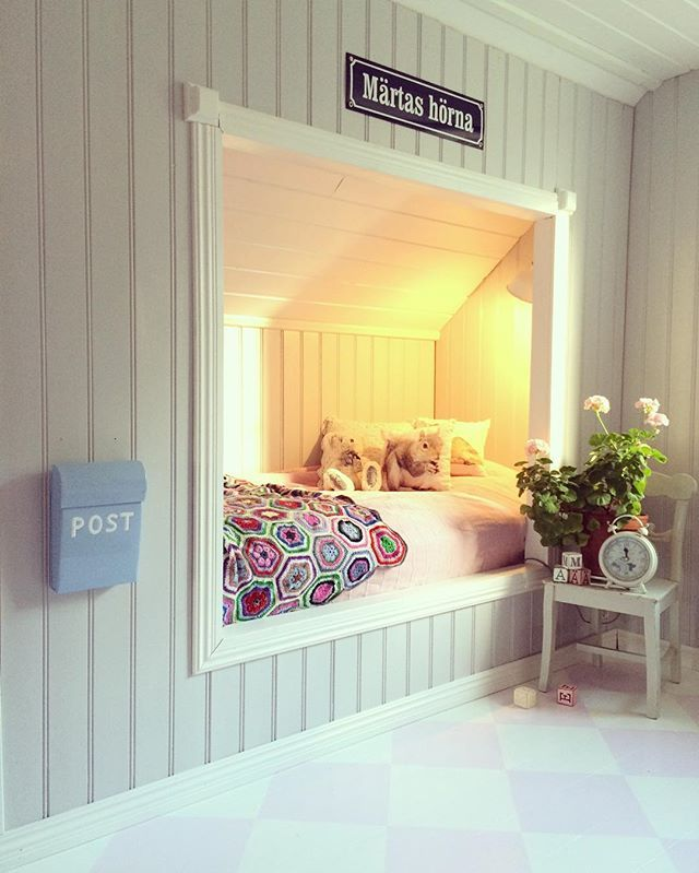 Krypin kattvind sovrum barnrum