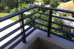 Aluminum Flat Bar With Images Balcony Railing Design