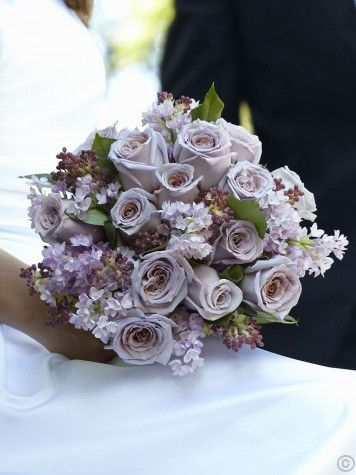 Soft Lilac Bouquet Lilac Bouquet Beautiful Bridal Bouquet Purple Wedding Flowers