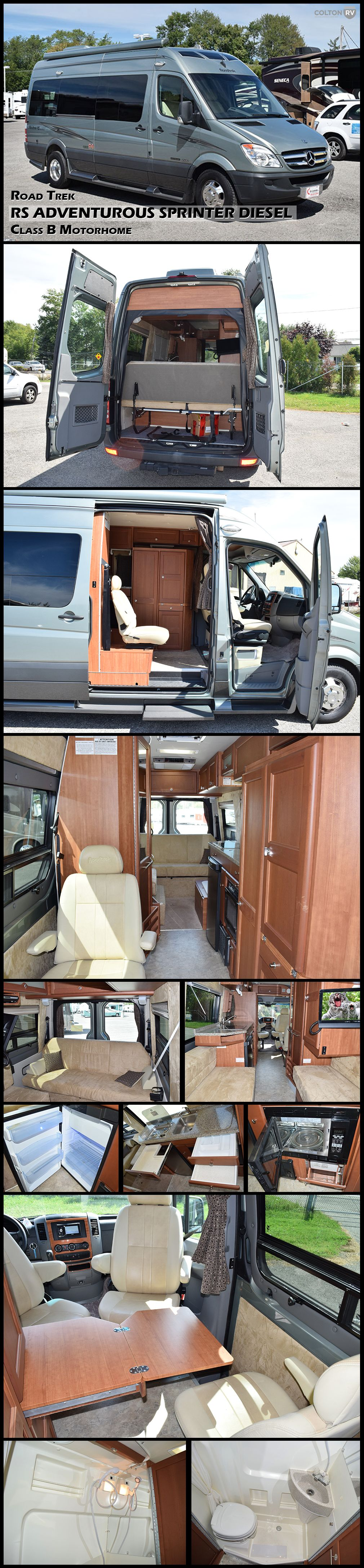 sale class motor benz general for c diesel winnebago sprinter home navion itasca center product rv mercedes