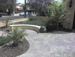 Delicieux Front Yard Paver Walkway