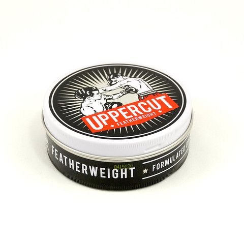Uppercut Featherweight Pomade:Don't be fooled by the name, just because this wax is light doesn't mean it can't pack a punch. Featherweight has plenty of tack and dry finish for a natural looking hold. Great for messy quiffs and textured styles. Another great feature with this product is that it's water soluble which means you get a great dry look without any... $18.00